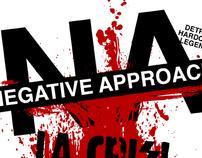 Negative Approach + La Crisi (Show Poster)