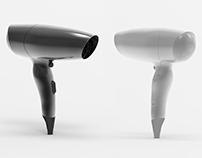hair dryer modeling