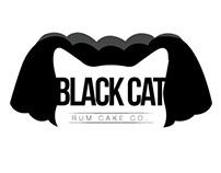Black Cat Rum Cake Co. Logo