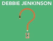 a peek at Debbie's portfolio (and some As to your Qs)