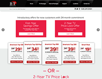 Satellite TV Company - Website Design