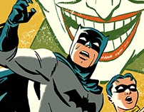 Batman and Robin recreation