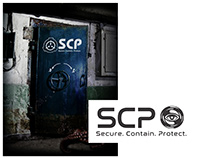 SCP Book Cover and Reimagined Logo