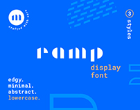Ramp Display Font