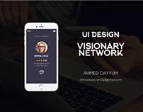 UI Design Visionary Network