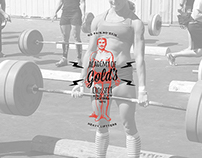 Gold's Academy of Cross Fitness Branding & Logo