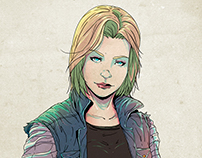 Android 18 - Fan Art