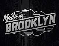 Made in Brooklyn Surfboard Graphic