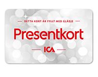 ICA Banken. Design presentkort