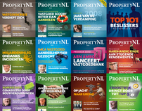 PropertyNL magazine covers