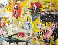 Live paintings Tokyo