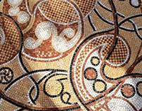 Mozaic pavimentar exterior