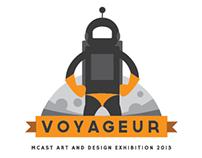 VOYAGEUR - Exhibition Branding - MCAST ADI 2013