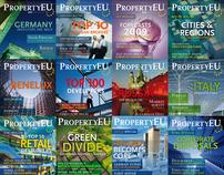 PropertyEU magazine covers