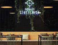 PROJEKT STRZELNICA - Restaurant design & branding