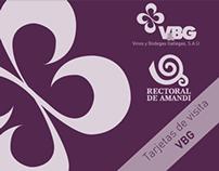 Tarjetas de visita VBG