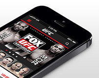 UFC App Redesigned
