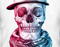 Retro Skull | Retro Skull 3D