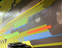 Team Construction office mural