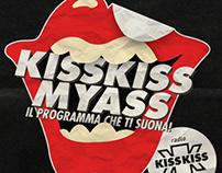 Kiss Kiss My Ass - LogoType