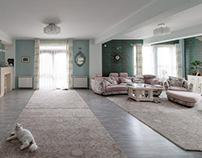Design interior rezidential - S.'s Shabby Loft