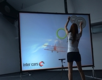 Kinect custom game-airplane flight
