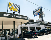 Rudy's Barbershop Storefronts