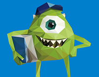 "Geometric ""Monsters University"""