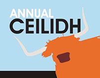 Annual Ceilidh - Promotional Material