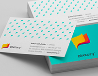Pixtory [Branding, Web Design & Development]