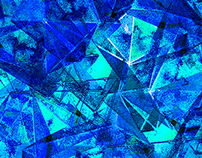 Seamless Crystal cells texture | Бесшовная текстура