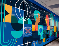 TRIUMF Physical Sciences Office Mural