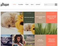Shape - Professional WordPress Photography Theme