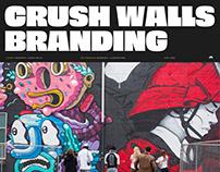 Crush Walls Branding