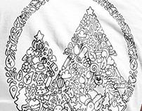 Design Doodle T-shirt Park Elochki