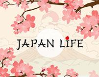 Japan Life web design