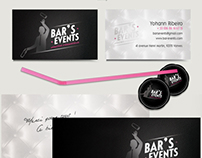 Bar's Events new Identity