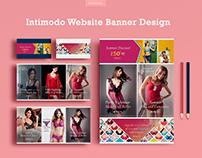 Intimodo Website Banner Design