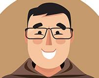 Father Tom Portrait