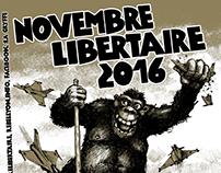 Novembre libertaire (sérigraphie - screen printing)