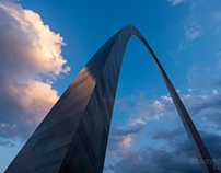 St. Louis Gateway Arch photographs