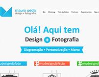 Mauro Ueda, Design + Fotografia - Site v5 2013
