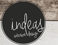 INDEAS | Interior Design - Logo / branding