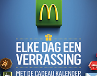 Mcdonalds Eindejaarskalender On Behance