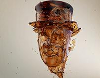 Face Splash CGI Animation