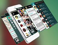 Messaging, Application, Mobile design