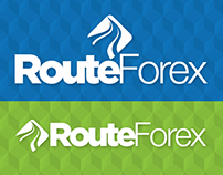RouteForex Logo Design