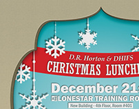 DHI Christmas Luncheon Email Invite