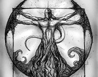 Vitruvian Demon