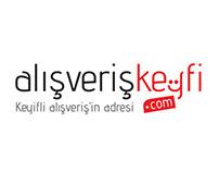 Alışveriş Keyfi Logo Çalışması